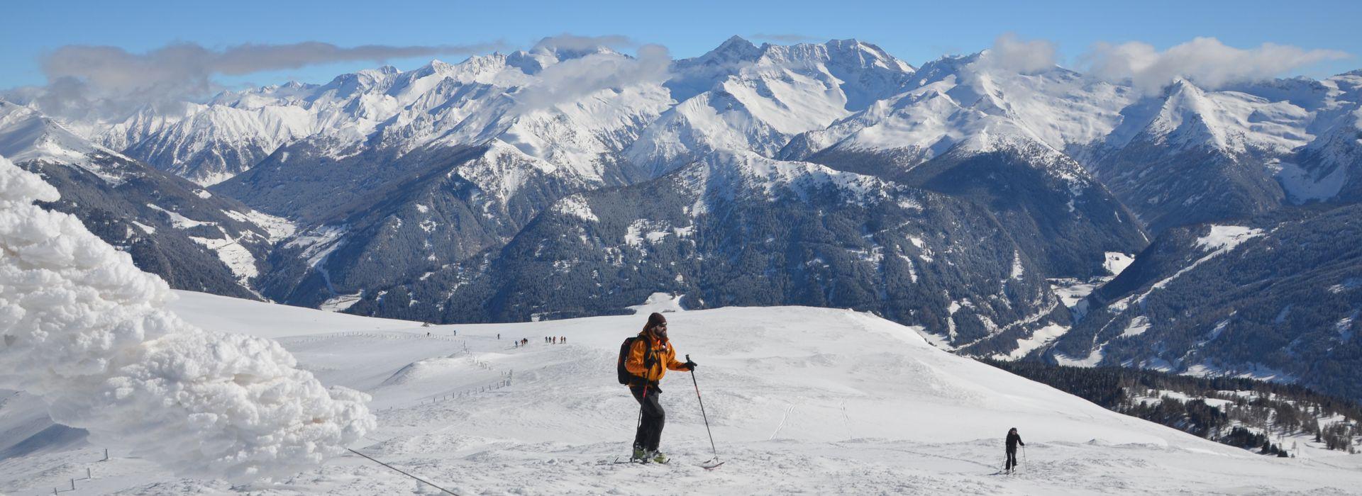 Eggerberg-Steinach / Skifahren im Wipptal